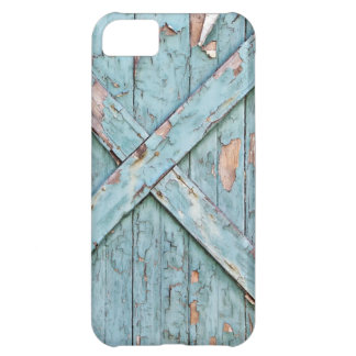 Vintage - Blue Weathered Paint iPhone 5C Covers