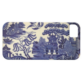 Vintage Blue Willow China Plate Wrap iPhone 5 Cases