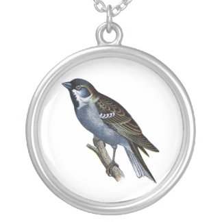 Vintage Bluebird Pendant