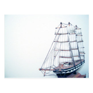 Vintage BlueShip Photo Postcard