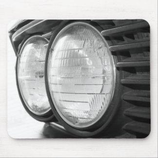 vintage BMW headlights mousepad