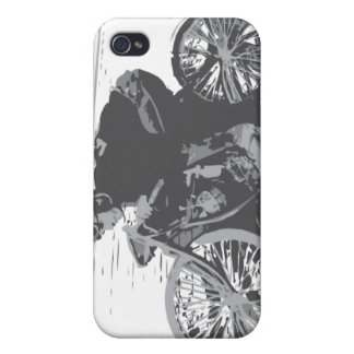 Vintage Board Track Motorcycle Racer#3 iPhone 4/4S Cases