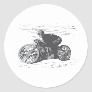 Vintage Board Track Motorcycle Racer#3 Stickers