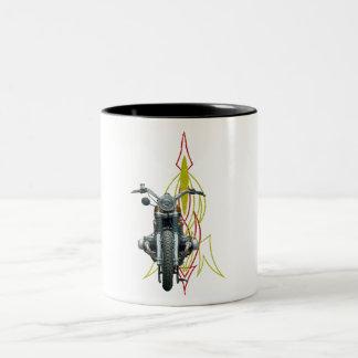 Vintage Bobber Two-Tone Coffee Mug