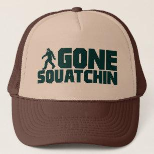 c6c43d08f00d6 vintage Bobo GONE SQUATCHIN Hat Finding Bigfoot