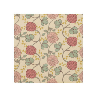 vintage,boho chic,retro,floral,pattern,girly,trend wood wall art