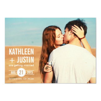 Vintage Bold Save the Date Invitations
