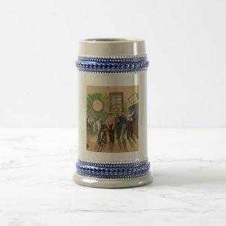 Vintage bolera #191 2 de mayo de 1894 jarra de cerveza
