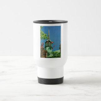 Vintage bolsa de acción de Dinamarca Copenhague Tazas De Café