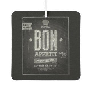 Vintage Bon Appetit Poster - Chalkboard