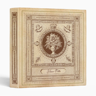 Vintage Book/Album Cover Decorations 3 Ring Binder