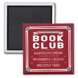 Vintage Book Club Typography Magnet
