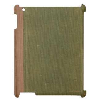 VINTAGE Book Cover iPad Case by Art of CHill