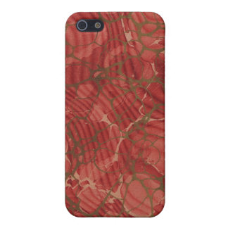 Vintage book cover, vintage retro style marble case for iPhone SE/5/5s