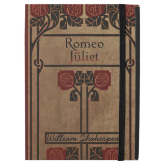 "Vintage Book Design Romeo And Juliet iPad Pro 12.9"" Case"