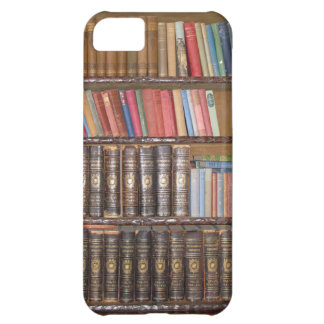 Vintage Bookcase Case For iPhone 5C