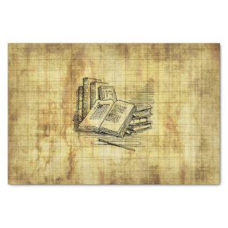 "Vintage Books 10"" X 15"" Tissue Paper"