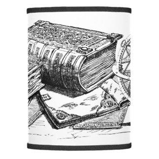 Vintage Books and Skulls Lamp Shade