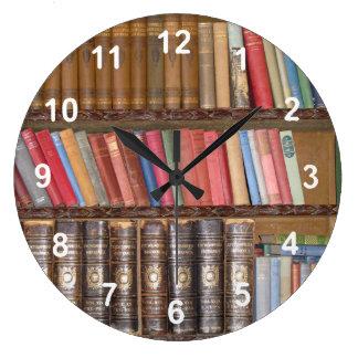 Vintage Books Clocks