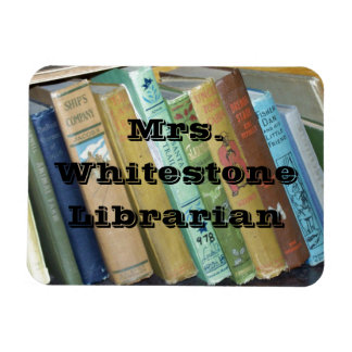 Vintage Books Library or English Department Flat M Magnet