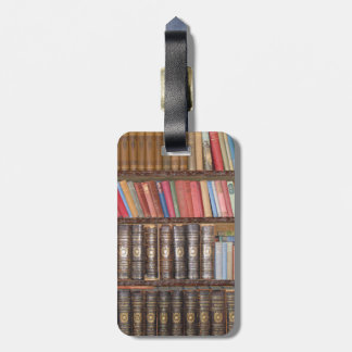 Vintage Books Luggage Tag