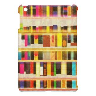 Vintage Bookshelf n Books iPad Mini Cases