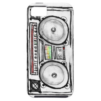 Vintage Boom Box iPhone SE/5/5s Case