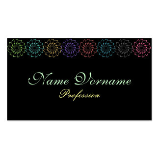 Vintage Border Double-Sided Standard Business Cards (Pack Of 100)