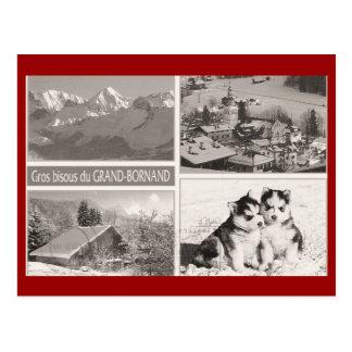 Vintage, Bornand magnífico Tarjeta Postal