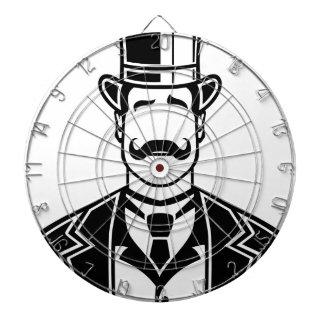Vintage Boss Black n White Dart Board