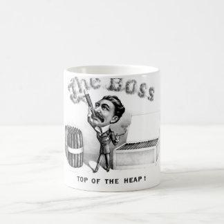 Vintage Boss Top of the Heap Gift Mug