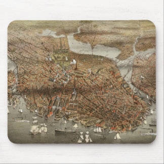 Vintage Boston 1898 Mouse Pad