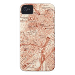 Vintage Boston Map Case-Mate iPhone 4 Case