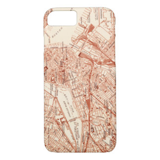 Vintage Boston Map iPhone 8/7 Case