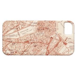 Vintage Boston Map iPhone SE/5/5s Case