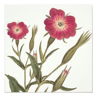 Vintage Botanical Birthday for Lady Gardener Card