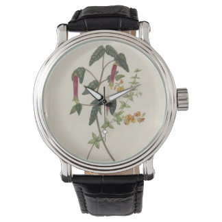 Vintage Botanical Hot Peppers Watch