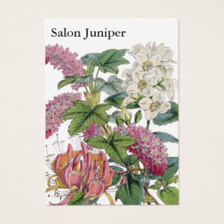 Vintage Botanical Illustrations Business Card