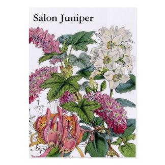 Vintage Botanical Illustrations Large Business Card