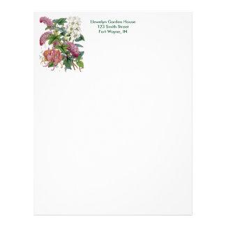 Vintage Botanical Page