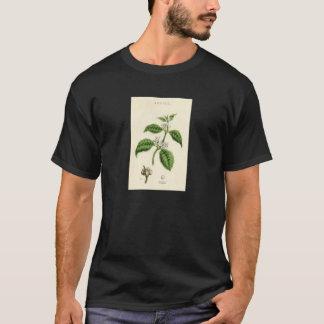 Vintage Botanical Print - Coffee T-Shirt