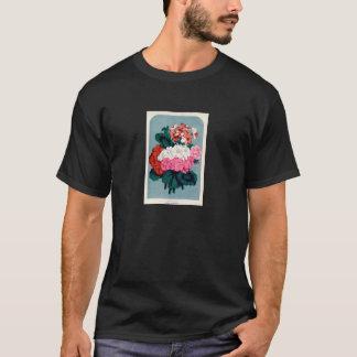 Vintage Botanical Print - Geraniums T-Shirt