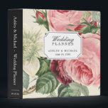 """Vintage Botanical Roses Floral Wedding Planner Binder<br><div class=""""desc"""">================= ABOUT THIS DESIGN =================  Vintage Botanical Roses Floral Wedding Planner Binder.  (1) For further customization,  please click the &quot;Customize&quot; button and use our design tool to modify this template. (2) If you need help or matching items,  please contact me.</div>"""