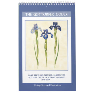 Vintage Botanical  - The Gottorfer Codex 2018 Calendar