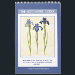 """Vintage Botanical  - The Gottorfer Codex 2019 Calendar<br><div class=""""desc"""">Twelve-month wall calendar with vintage botanical illustrations of flowers from The Gottorfer Codex, a four-volume book commissioned by Duke Frederic III of Schleswig-Holstein to document the flowers and plants growing in the gardens of Gottorf Castle in Germany. The illustrations were painted by Hans Simon Holtzbecker between 1649 and 1659. Features...</div>"""
