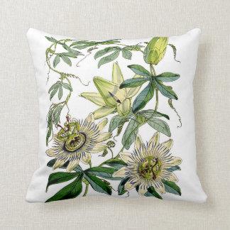 Vintage Botanical Throw Pillow
