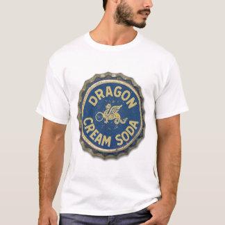 Vintage Bottle Cap Dragon Cream Soda T-Shirt