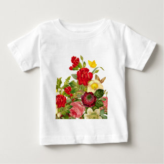 Vintage Bouqet of flowers Baby T-Shirt