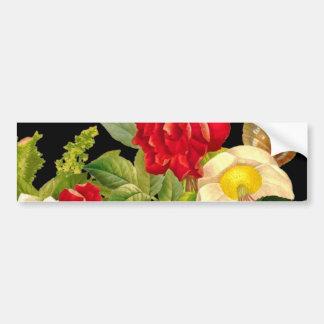 Vintage Bouqet of flowers Bumper Sticker
