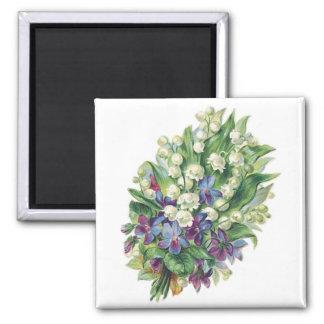 Vintage Bouquet 2 Customizable Magnet